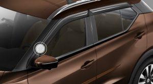 CALHA DE CHUVA Protege o interior do carro da chuva quando o vidro estiver parcialmente aberto.
