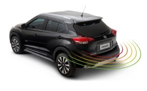 SENSOR DE ESTACIONAMENTO TRASEIRO Mais segurança e rapidez ao estacionar.  Acessório Parceiro Nissan, fornecido por Quantum.